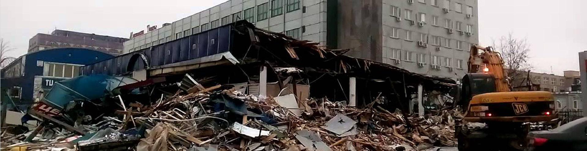 снос самовольной постройки в Челябинске